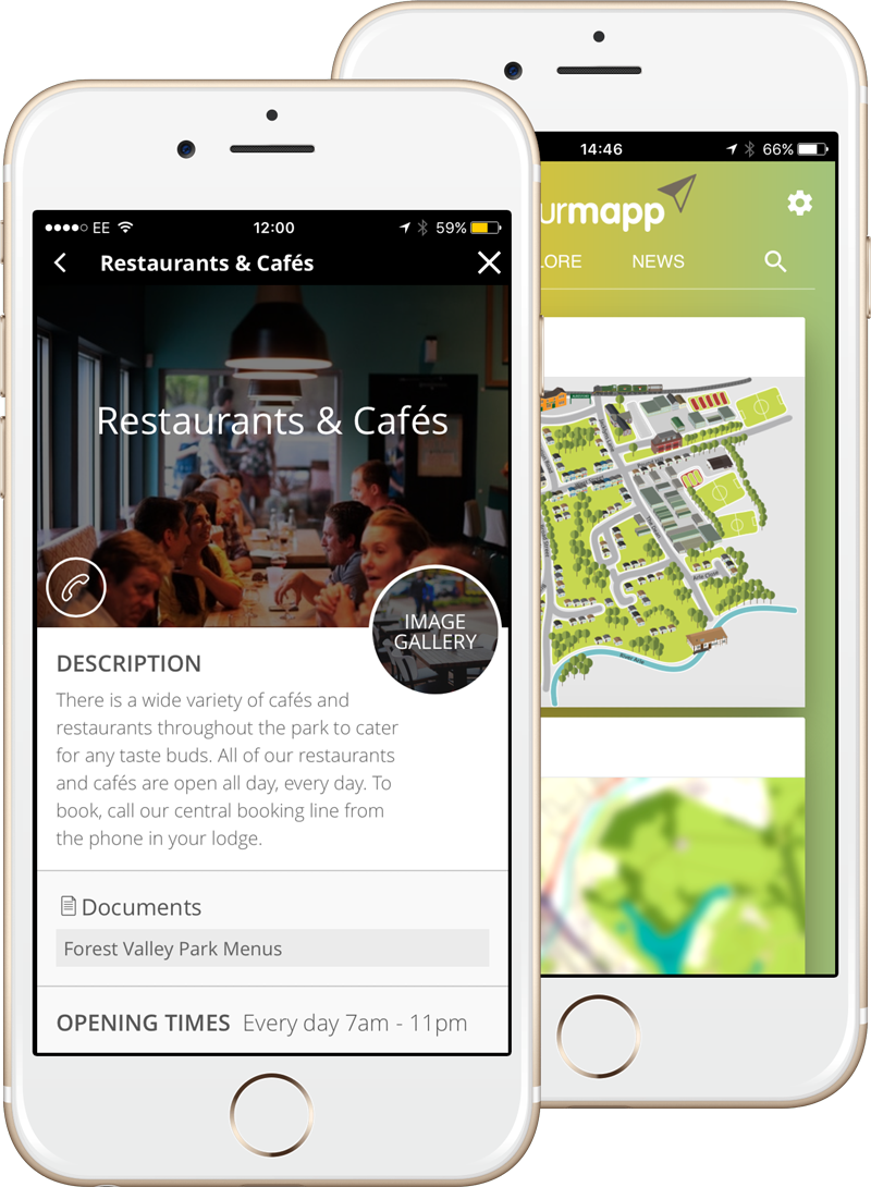 YourMapp App Screenshots